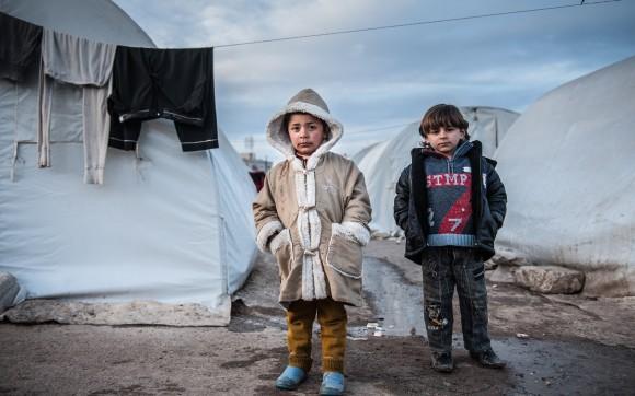 """Alladin, 6, sammelt """"Altmetall"""" in Aleppo"""