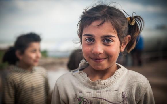 Fatima, 10, Flüchtlingskind